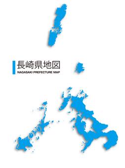 長崎縣_Map_Shadow
