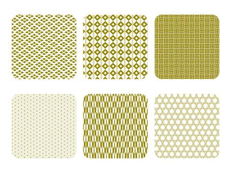 背景材料日本圖案色板材料集