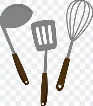 Kitchen utensils 3 points