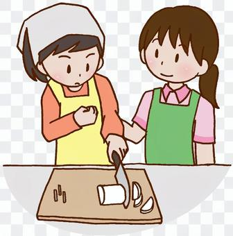 Rehabilitation, cooking training, cooking, housework