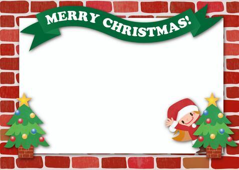 Santa girl's Christmas card