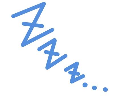 漫畫圖標睡覺睡覺打呼嚕zzz