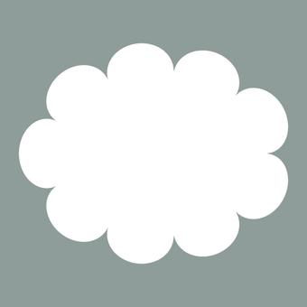 天氣標誌(多雲)·圖標