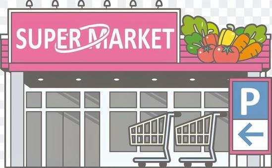 購物難民-超市-全身