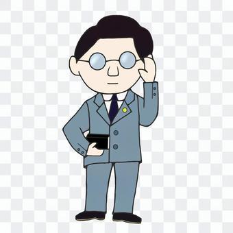 律師(灰)