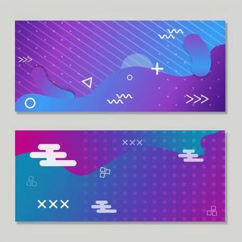 Gradient design banner 2