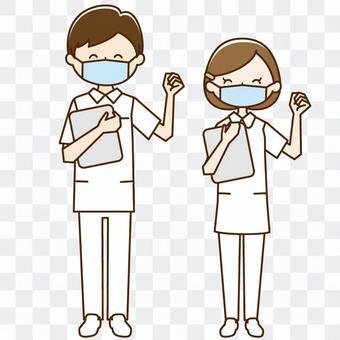 Nurse_guts姿勢