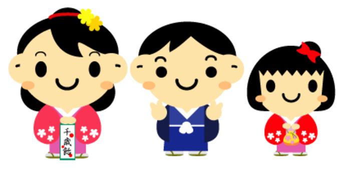 Shichigosan例證
