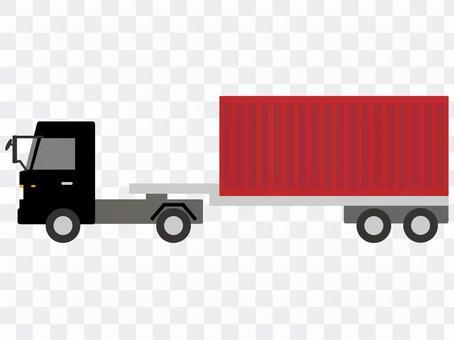 集裝箱拖車