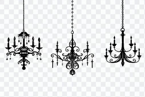 古色古香的枝形吊燈01