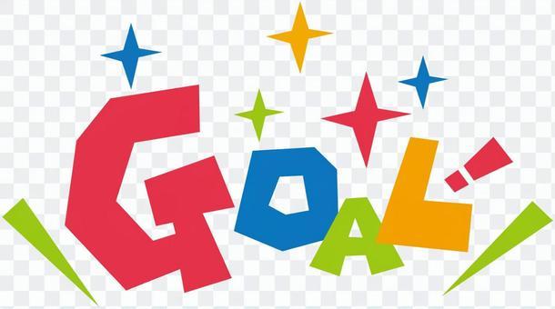GOAL goal! ☆ Pop logo icon