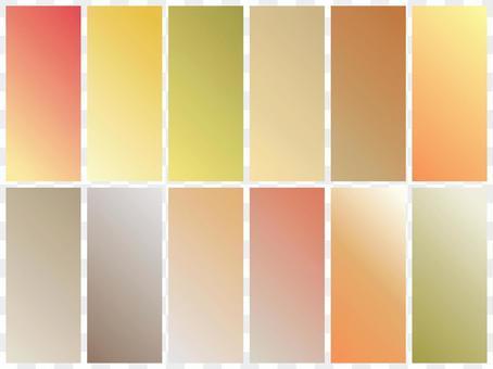 漸變4 /色板/背景秋天的顏色