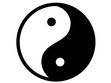 Yin Yang Mark In Yang