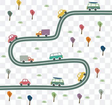 公路繞道路