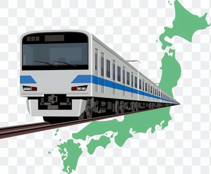 火車日本地圖