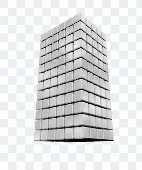 3D rendering block tower
