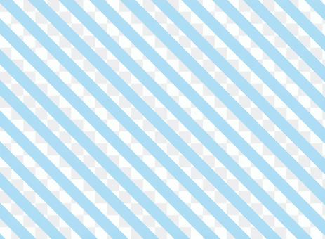斜條紋<淺藍>