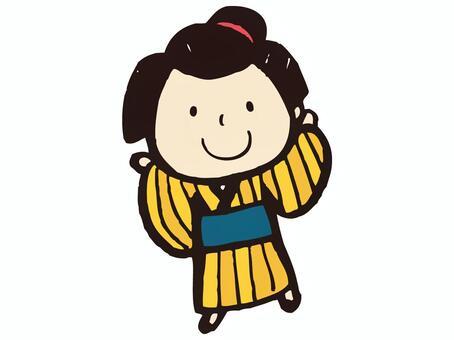 Edo daughter