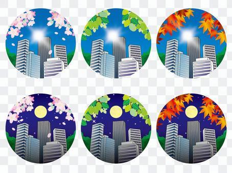 Four Season Summary (20) The sun and moon office town