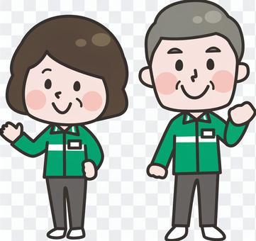 兩頭__便利店工作人員_高級