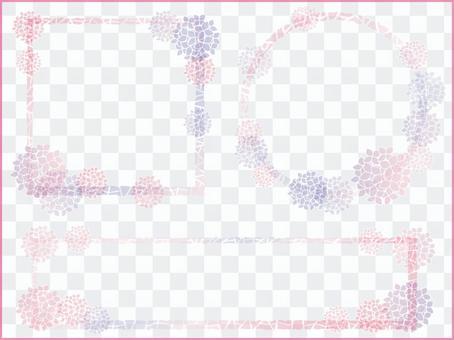 繡球花的框架10