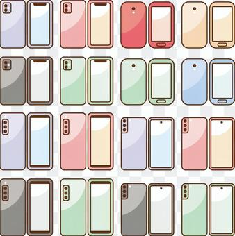 通用智能手機的各式智能手機