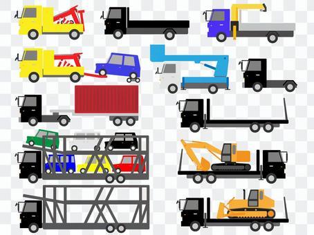 工作车(卡车)材料组2