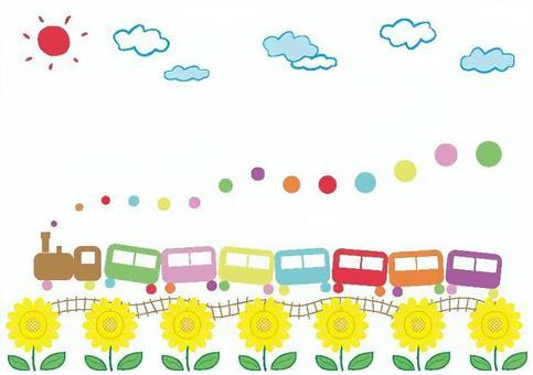 童話火車夏天2