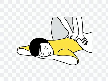 腰部指壓按摩