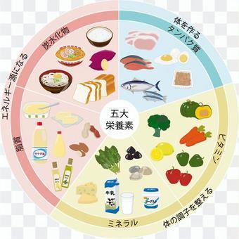 五種主要營養素