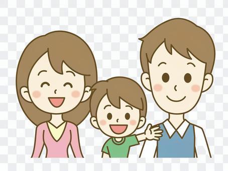 家族(3人)