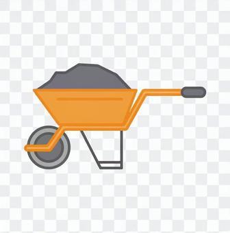 工事用一輪車