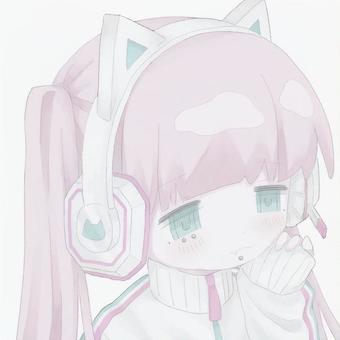 猫耳ヘッドセット