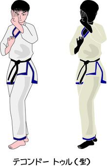 Taekwondo Martial Arts Blow South Korea