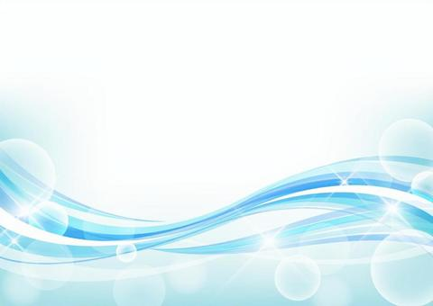 波和Shabon背景素材_藍色