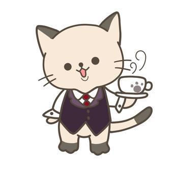 工作 Nyanko 咖啡廳店員