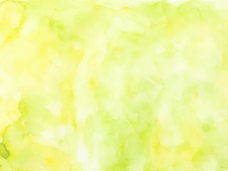 水彩紋理綠色