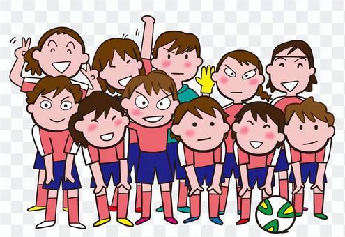 Fellows who play soccer