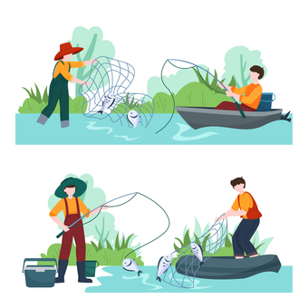 Hobby fishing