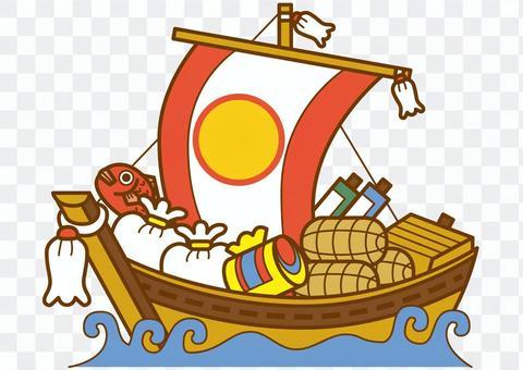 Treasure boat 4c