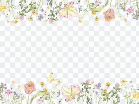 花框架242  - 可爱的花框架2装饰框架