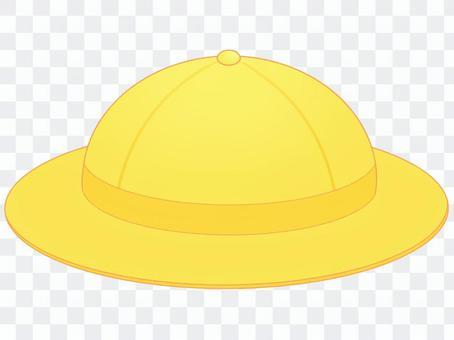 黄色の帽子