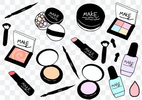 各種各樣的化妝用品