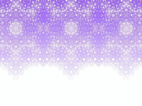 Braiding pattern (purple)