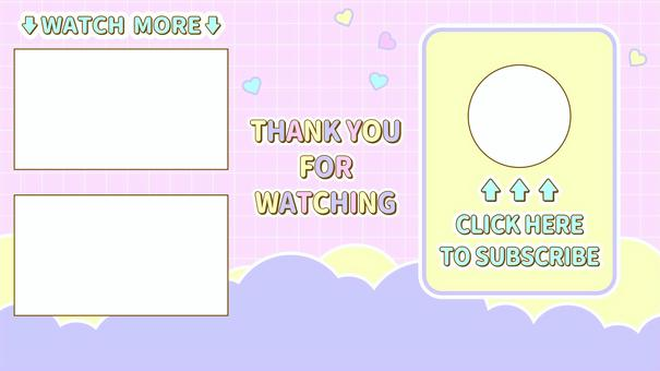 Video end card English version