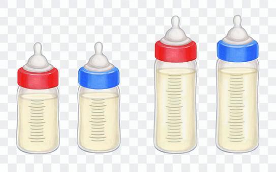 大小嬰兒奶瓶