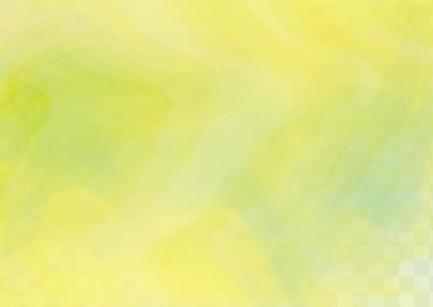 새잎 신록 잎 자연 식물 컬러 배경 프레임