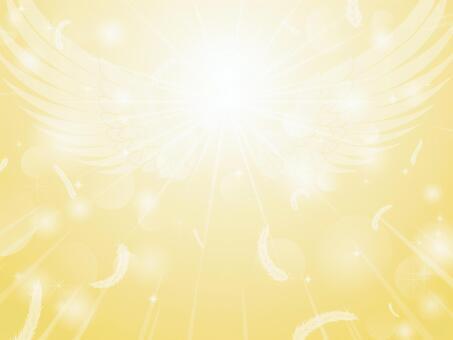 輝く翼の放射状背景1