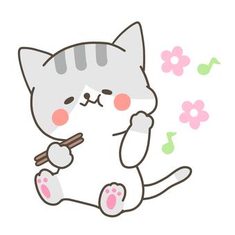 美味的貓圖