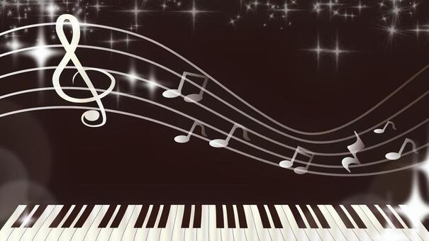 Musical notes wallpaper